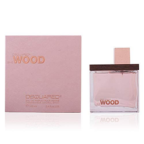 Dsquared She Wood Eau de Parfum spray voor dames, 100 ml
